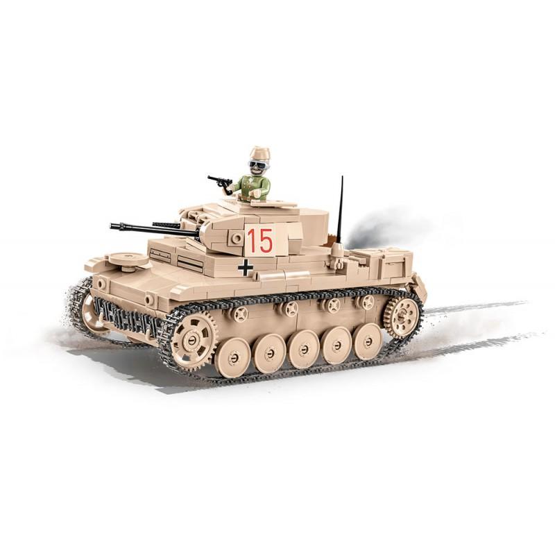 Stavebnice II WW Sd.Kfz.121 PzKpfw II Ausf. F, 420 k, 1 f