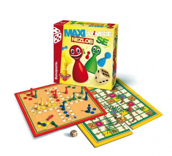 Hra Člověče nezlob se MAXI