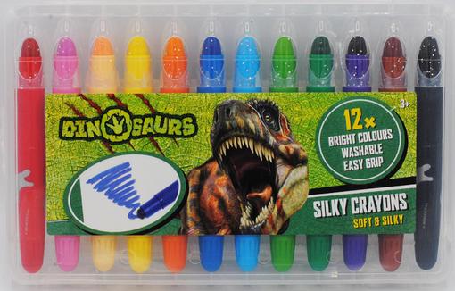 Voskovky gelové Dinosaurus