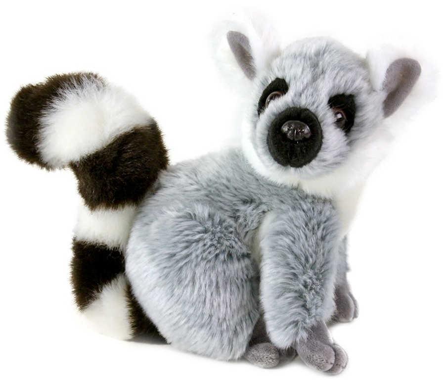 PLYŠ Lemur 20cm sedící *PLYŠOVÉ HRAČKY*