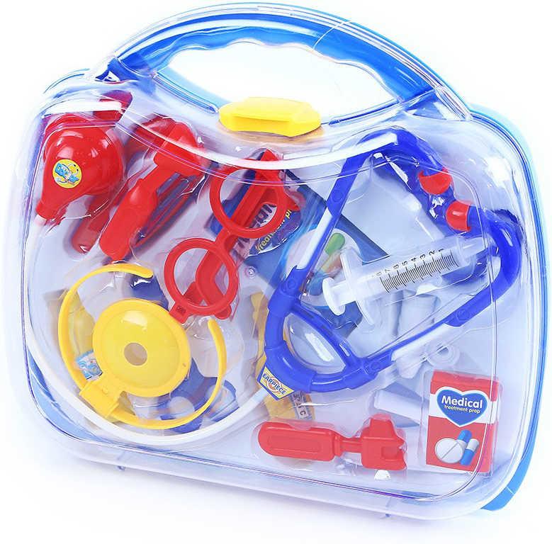 Doktorský kufřík velký plastový dětské lékařské potřeby