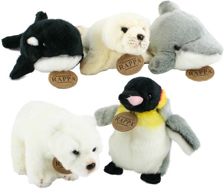 PLYŠ Zvířátko zimní antarktida exkluzivní kolekce 5 druhů *PLYŠOVÉ HRAČKY*