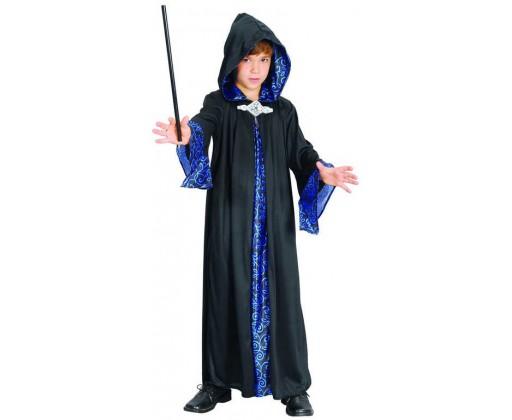 E-shop KARNEVAL Šaty Kouzelník vel. M (120-130 cm) 5-9 let KOSTÝM