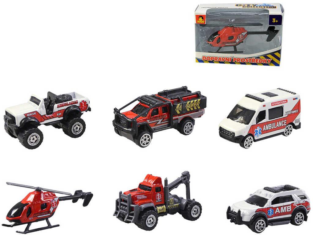 Auto kovové záchranné složky 9cm volný chod 6 druhů