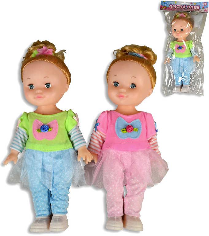 Panenka holčička 28cm 2 barvy v sáčku