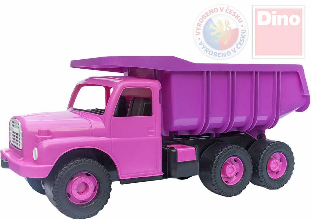 DINO Tatra T148 klasické nákladní auto na písek 73cm růžová sklápěcí korba
