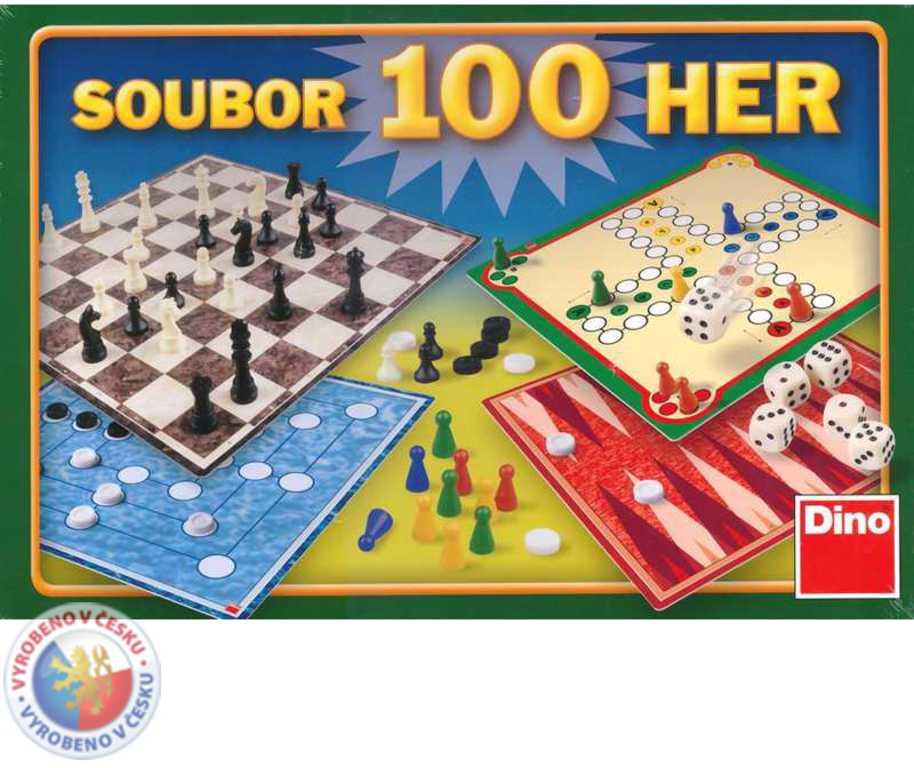 DINO Hra Soubor 100 her variant *SPOLEČENSKÉ HRY*