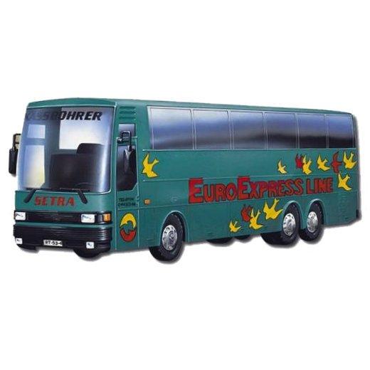 MONTI SYSTÉM 33 Auto Bus Setra EUROEXPRESS MS33 0108-33