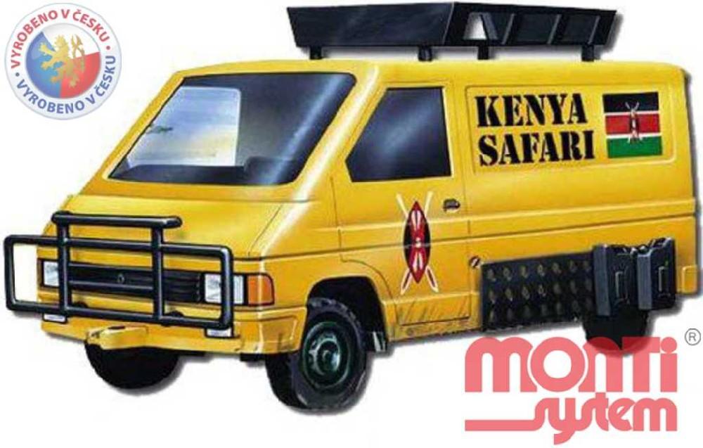 MONTI SYSTÉM 04 Auto Renault Trafic KENYA SAFARI MS04 0102-4