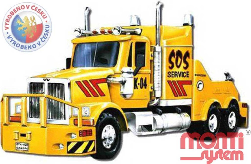 MONTI SYSTÉM 42 Auto WS SOS SERVICE stavebnice MS42 0107-42