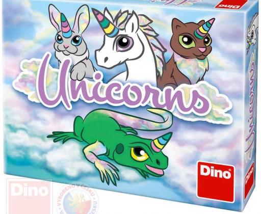 E-shop DINO Hra karetní Unicorns cestovní *SPOLEČENSKÉ HRY*