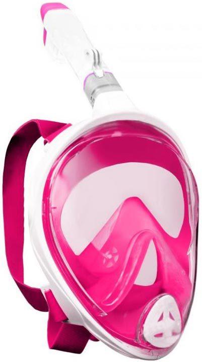 SEDCO GoProAD potápěčská maska celoobličejová se šnorchlem do vody růžová