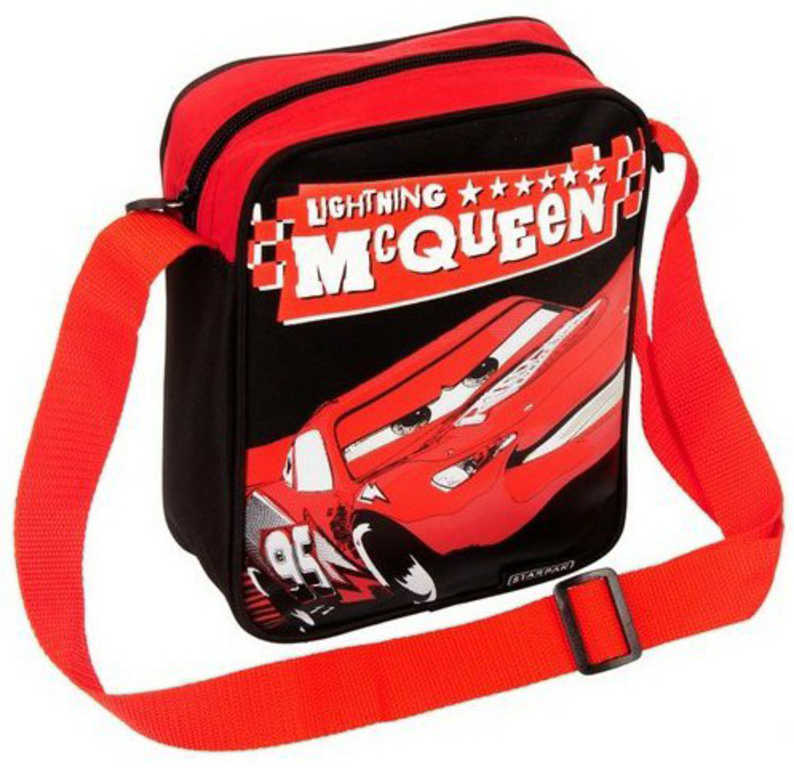 ET Taška klučičí přes rameno Cars (Auta) chlebník na zip