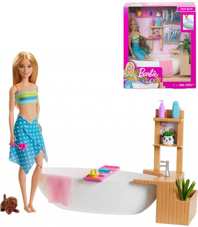MATTEL BRB Barbie wellness lázně herní set panenka s doplňky