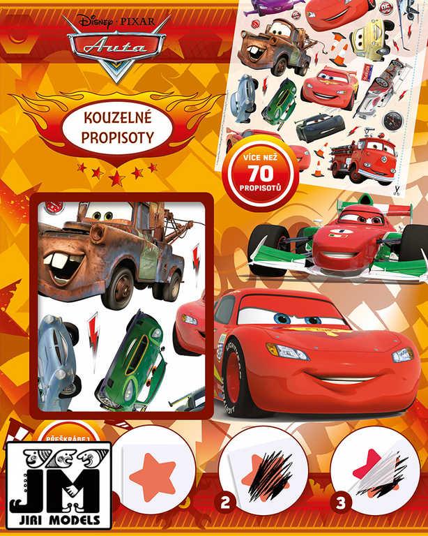 JIRI MODELS Propisoty kouzelné Auta (Cars) 70 propisotů