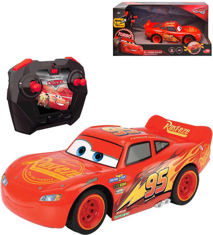 DICKIE RC Auto Blesk McQueen na vysílačku 2,4GHz na baterie Auta 3 (Cars)