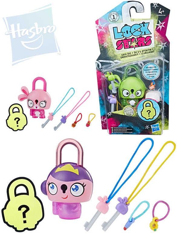 HASBRO Lock Star zámeček figurka s překvapením set s klíčky a přívěsky