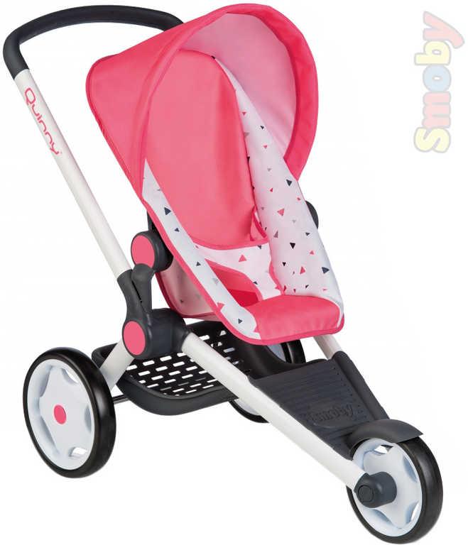 SMOBY Sportovní kočárek Jogger Maxi Cosi Quinny 3 kolečka pro panenku miminko