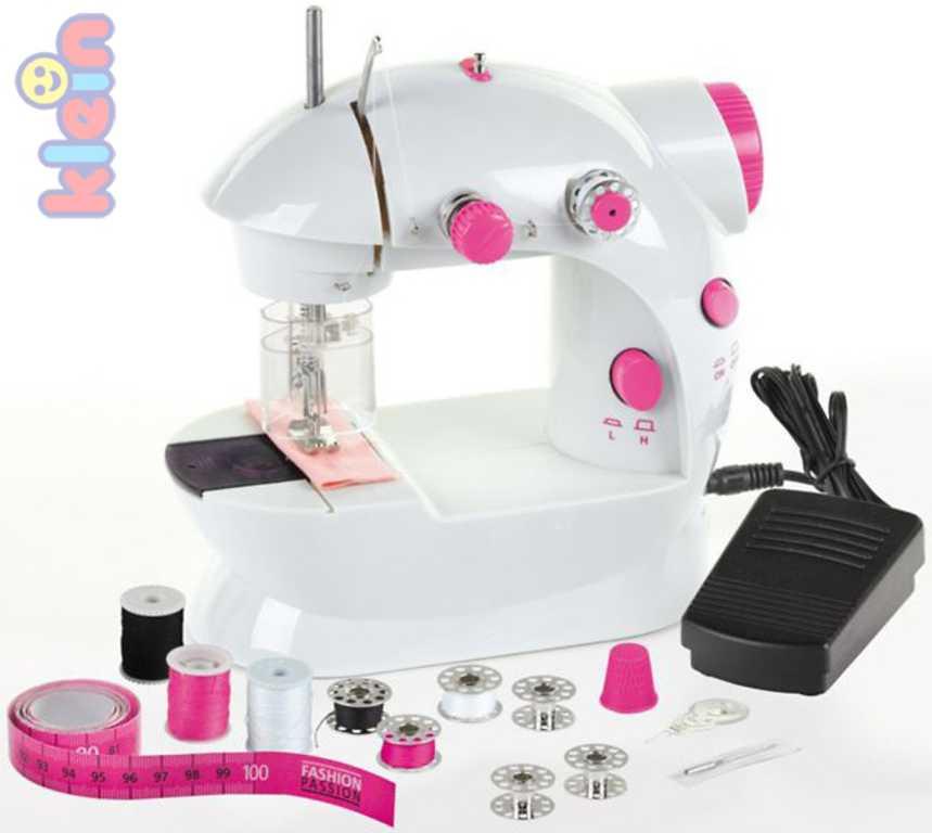 KLEIN Stroj šicí dětský funkční set s cívkami jehlou a doplňky