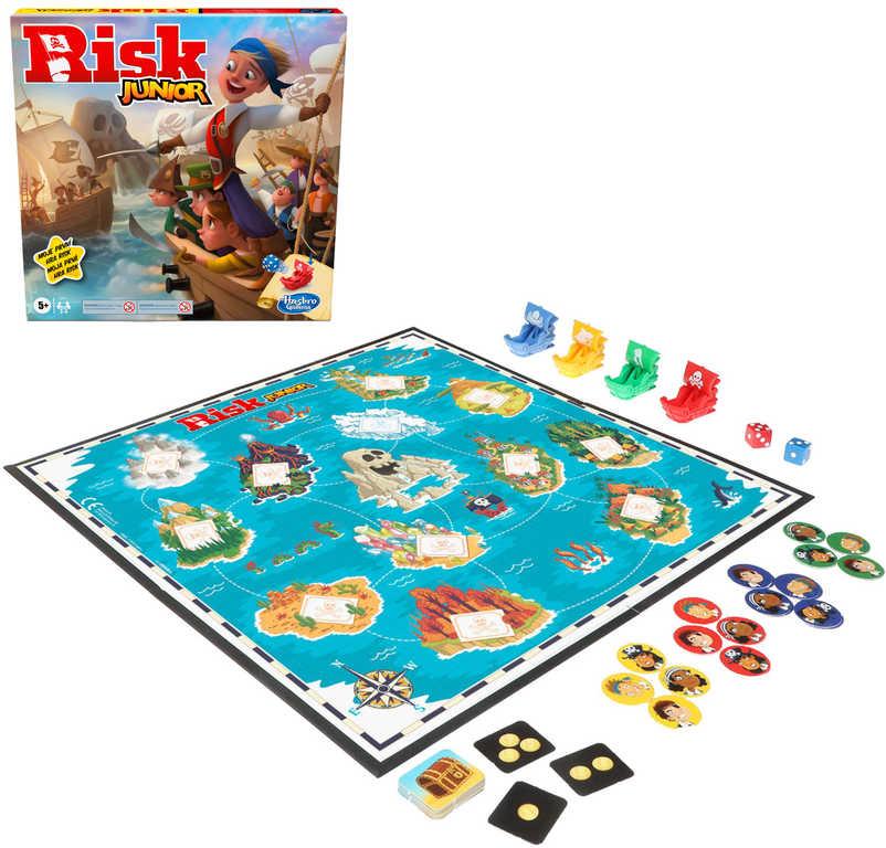HASBRO Hra Risk Junior *SPOLEČENSKÉ HRY*