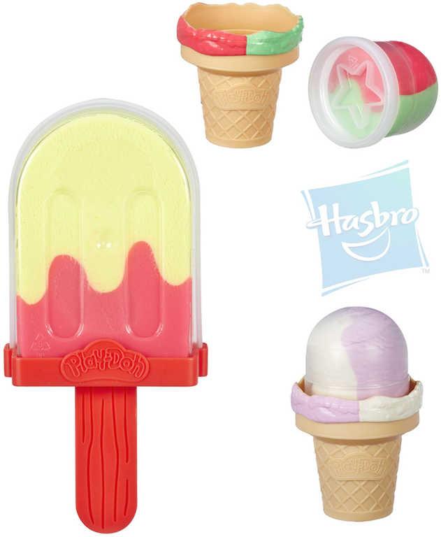 HASBRO PLAY-DOH Modelína v kornoutu zmrzlina různé druhy
