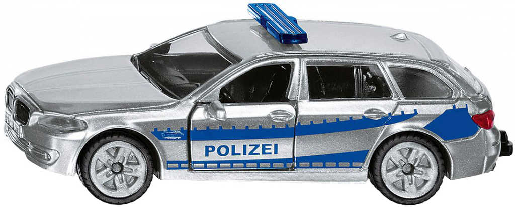SIKU Model auto BMW hlídkový vůz policie kovový model 1401