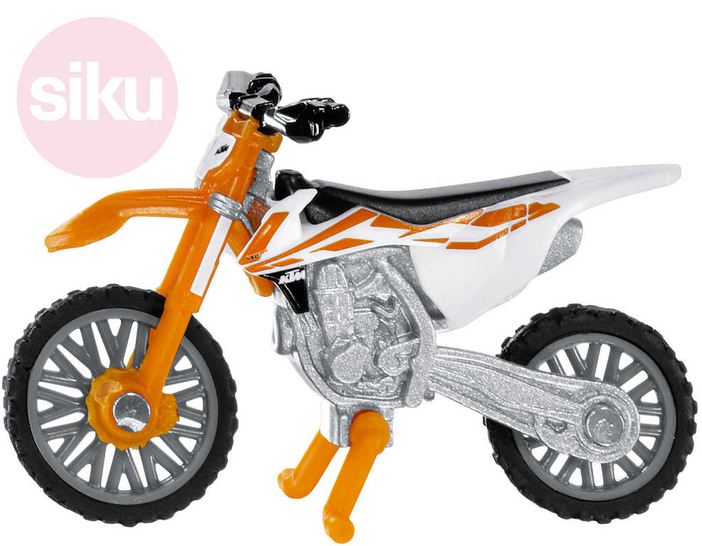 SIKU Motorka terénní KTM SX-F 450 cross model kov 1391