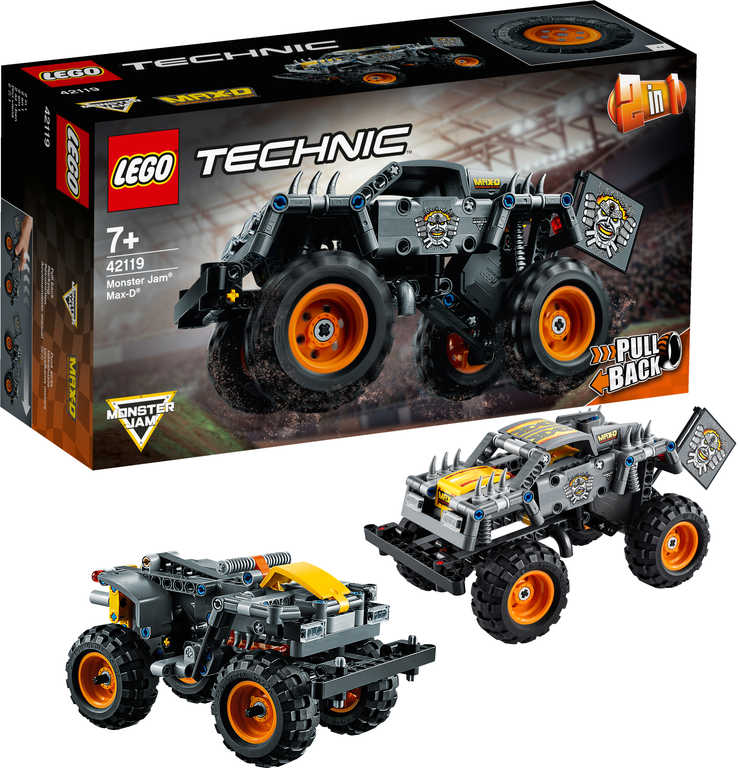 LEGO TECHNIC Auto Monster Jam Max-D 2v1 42119 STAVEBNICE