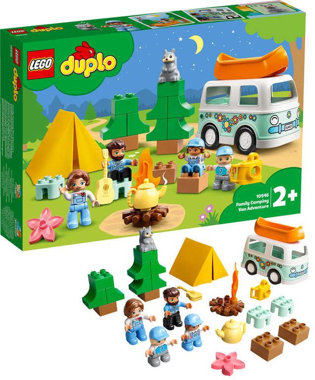 LEGO DUPLO Rodinný karavan 10946 STAVEBNICE