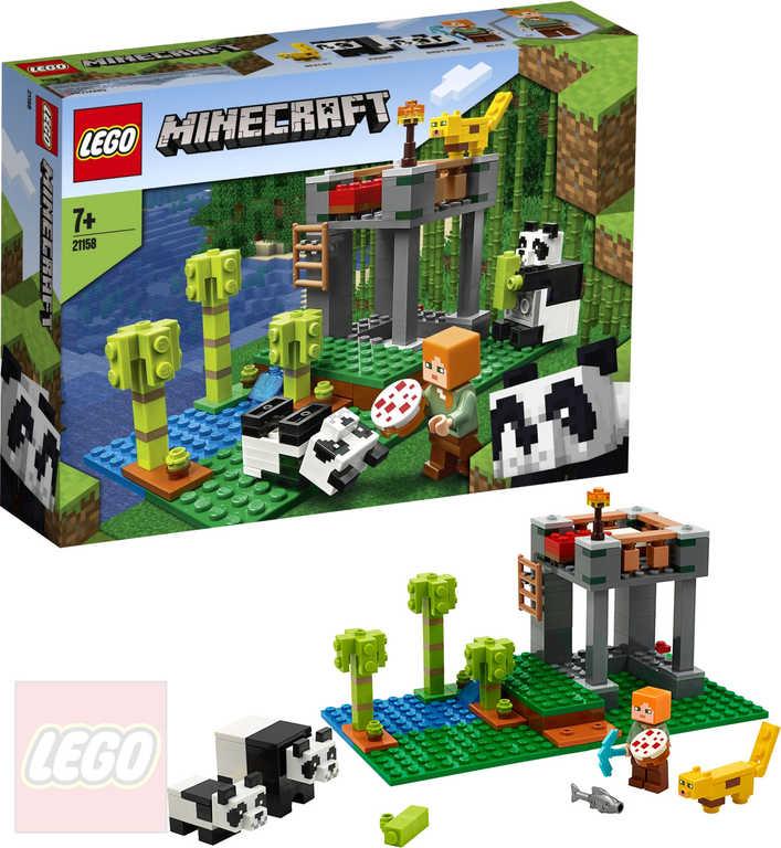 LEGO MINECRAFT Pandí školka 21158 STAVEBNICE