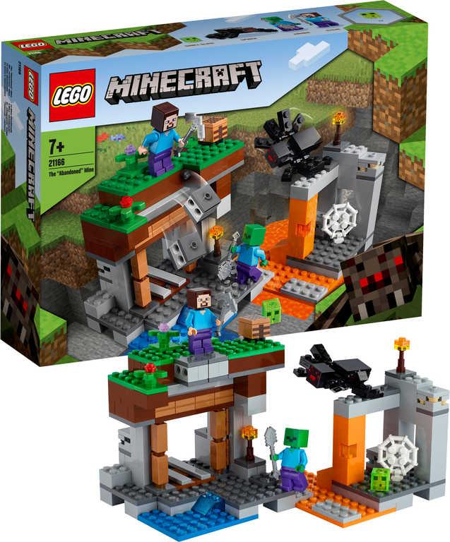 LEGO MINECRAFT Opuštěný důl 21166 STAVEBNICE