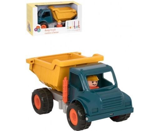 E-shop B-TOYS Baby autíčko nákladní sklápěčka Vroom set s figurkou řidiče