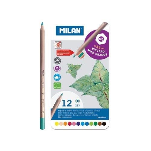 Pastelky v plechové krabičce Milan - 12 barev