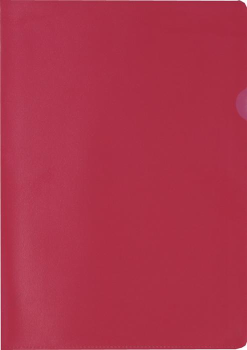 Zakládací obal A4 barevný - tvar L / červená / 100 ks