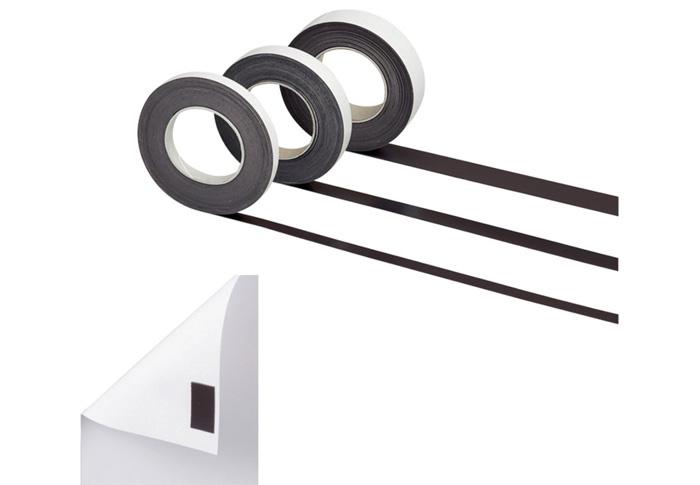 Magnetické pásky samolepicí Hebel - 10 mm x 10 m