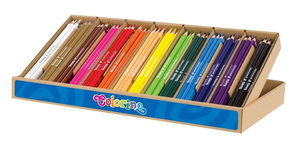 Pastelky trojhranné BIG Pack - 168 ks / 12 x 14 barev