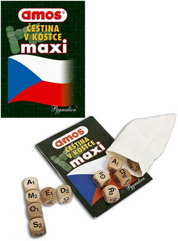 AMOS Hra čeština v kostce Maxi *SPOLEČENSKÉ HRY*