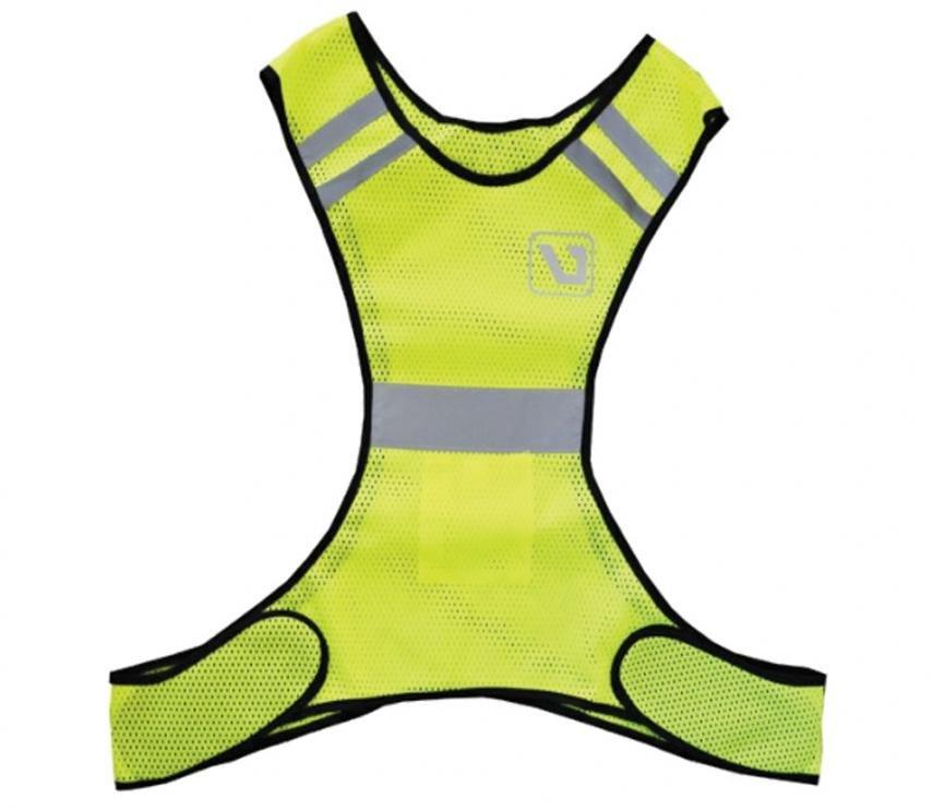 Reflexní vesta běh/cyklo - kolo LivePro neon/žlutá