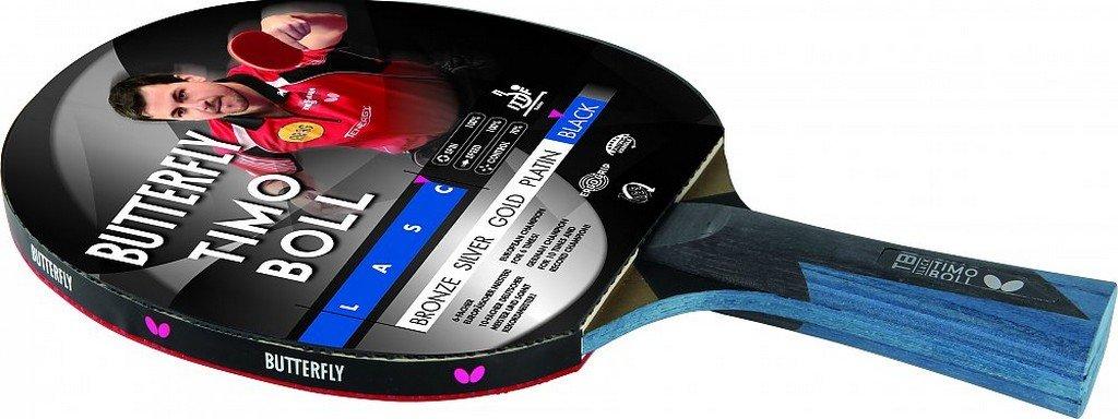 Pálka na stolní tenis BUTTERFLY - Boll Black 17