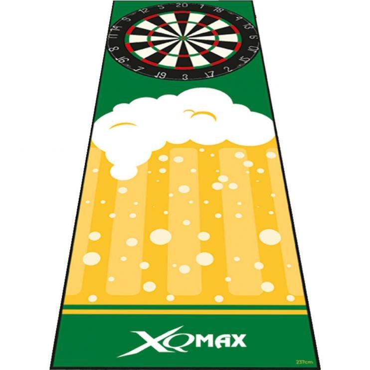 Fotografie Podložka/koberec na šipky XQ MAX DARTMAT beer