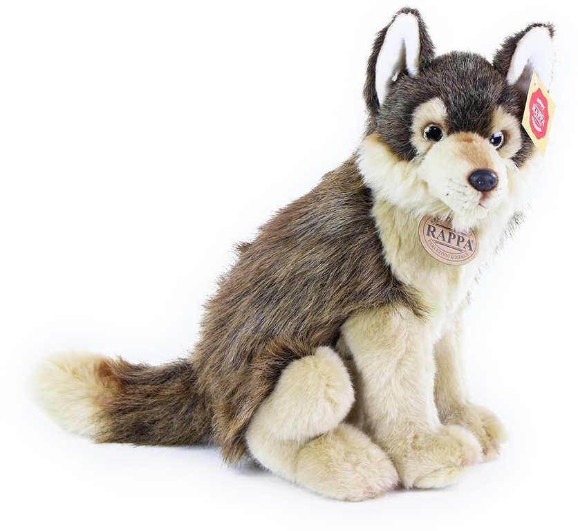 PLYŠ Vlk sedící 28cm *PLYŠOVÉ HRAČKY*