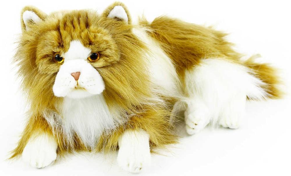 PLYŠ Kočka perská 25cm ležící *PLYŠOVÉ HRAČKY*
