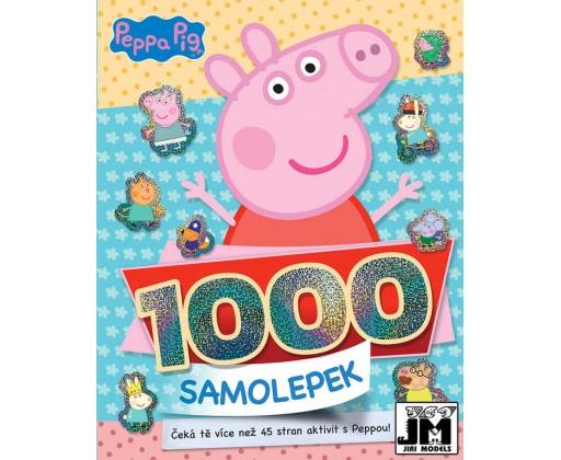 E-shop JIRI MODELS 1000 samolepek s aktivitami Peppa Pig