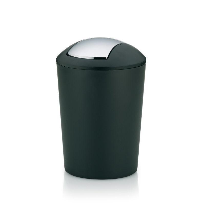 Odpadkový koš MARTA 5l plast, černý KELA KL-22300