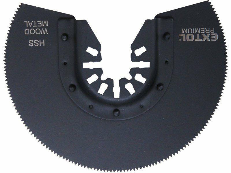 Kotouč segmentový pilový na kov, 88mm, HSS EXTOL-PREMIUM
