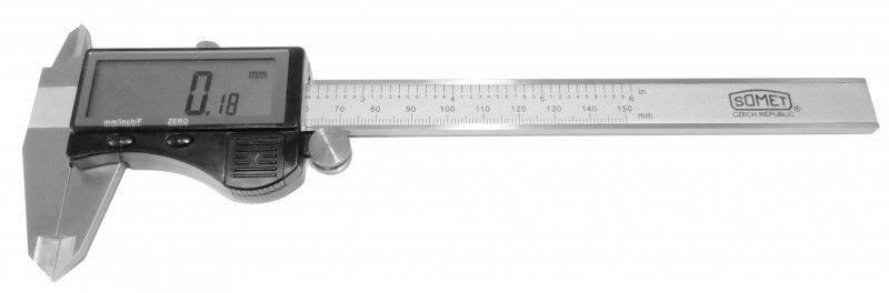Posuvné měřítko digitální 0-150mm / CZ výroba SOMET