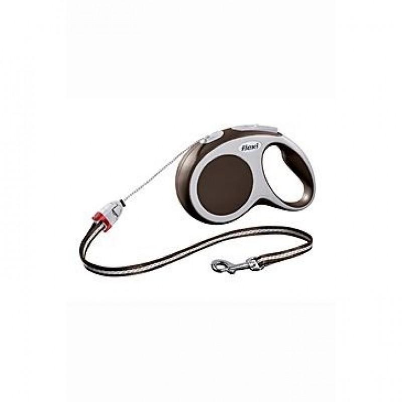 Flexi vario cord M 5m-20kg hneda