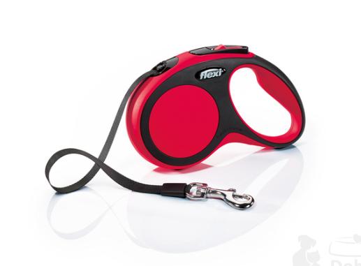 Flexi New Comfort M pásek 5m červená