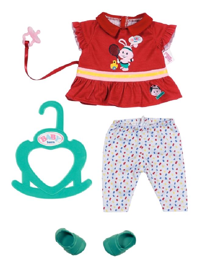 BABY born Little Sportovní oblečení červené 36 cm