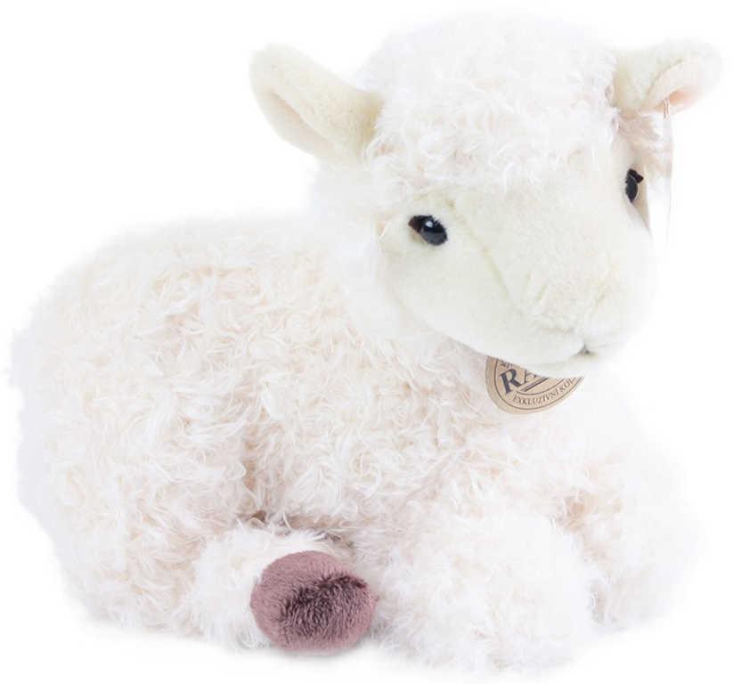 PLYŠ Ovce ležící 25cm *PLYŠOVÉ HRAČKY*